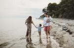 A Sunset Beach Photoshoot - Fairfield, CT Family Photographer