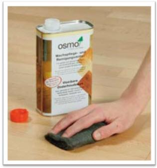 Cera ecologica de limpieza y mantenimiento osmo per for Cera para pisos de marmol