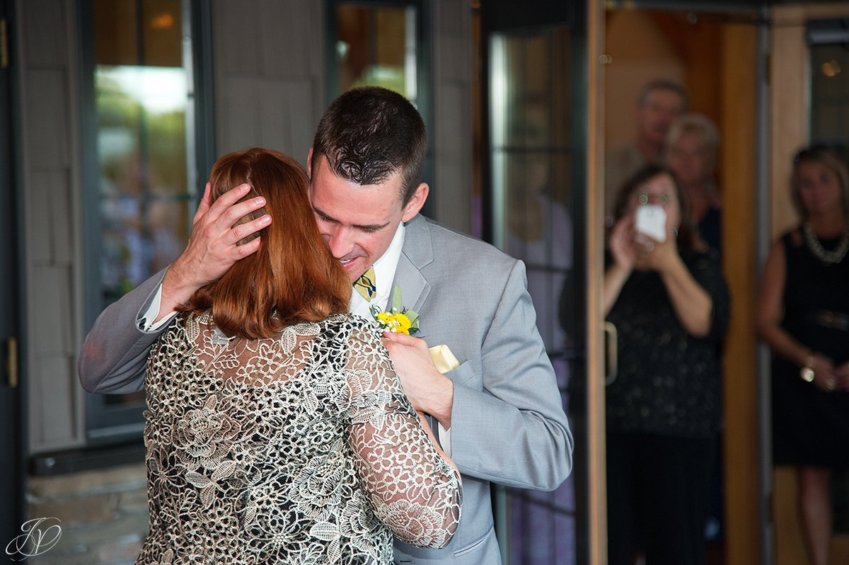 mother son dance at reception Arrowhead Golf Club