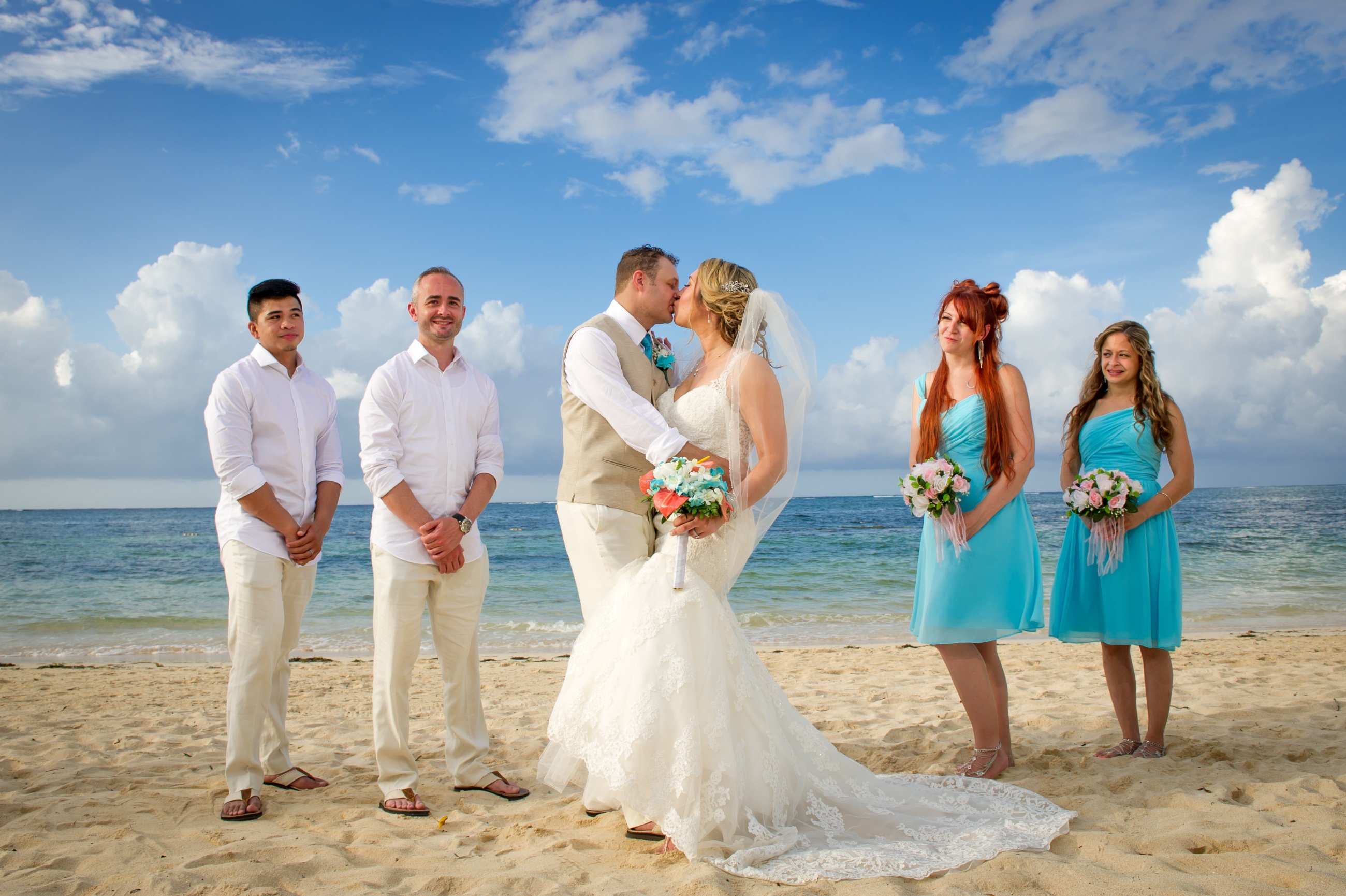 Tiffany & Shawn\'s Wedding at Iberostar Rose Hall Jamaica - Wedding ...