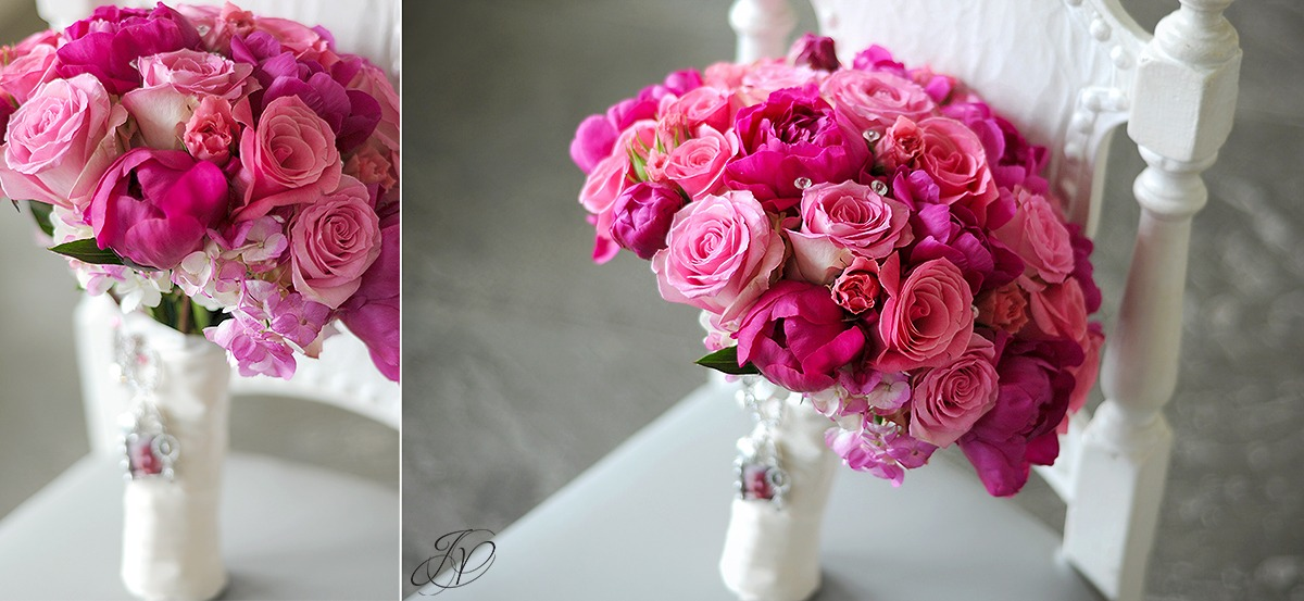 pink bridal flower bouquet, beautiful bridal flower bouquet