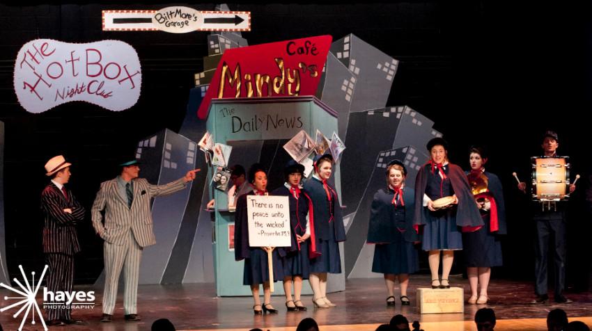 musical, Webster Schroeder High School, Guys & Dolls, Hayes Photography