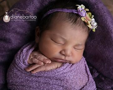 newborn girl photos riverside