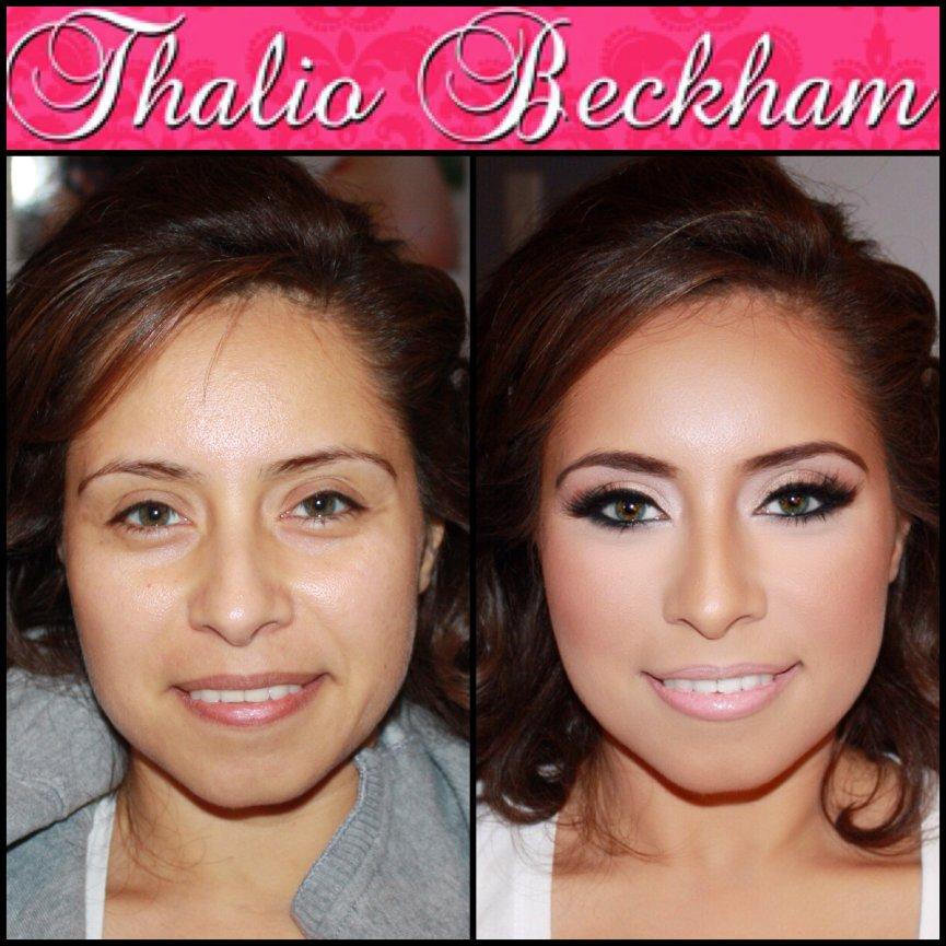 Airbrush Bridal Makeup Reviews : Before And After Airbrush Makeup Pictures - Mugeek Vidalondon
