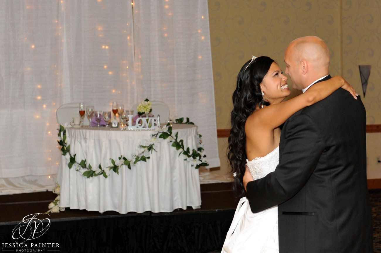 albany wedding, schenectady wedding, reception detail shots, bride groom dance, first dance