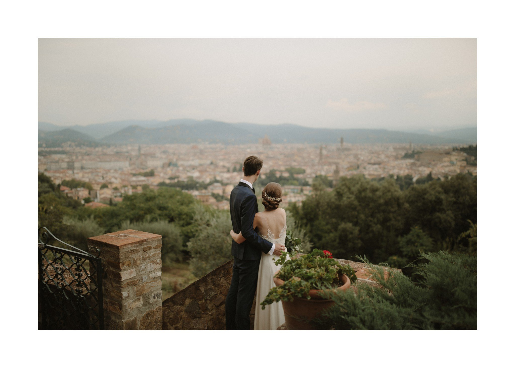 florence wedding photo