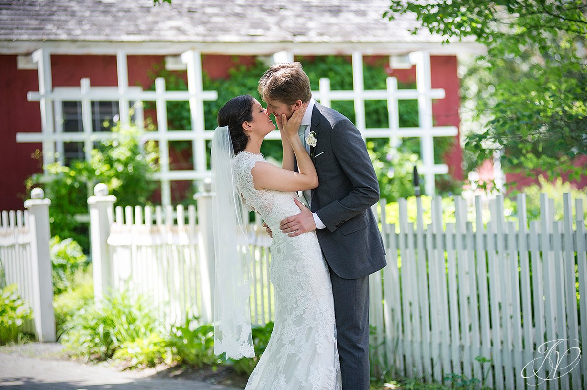 first kiss bride and groom photo, Albany Wedding Photography, pruyn house wedding, Wedding at The Pruyn House