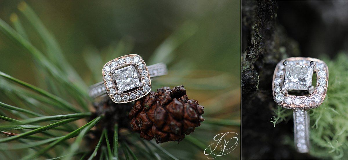 vintage engagement ring, bling wedding details