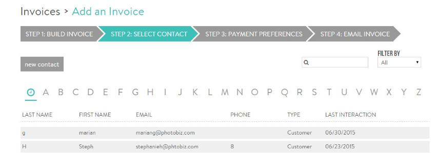 How Do I Create A Custom Invoice PhotoBiz Knowledge Base - Custom billing invoices