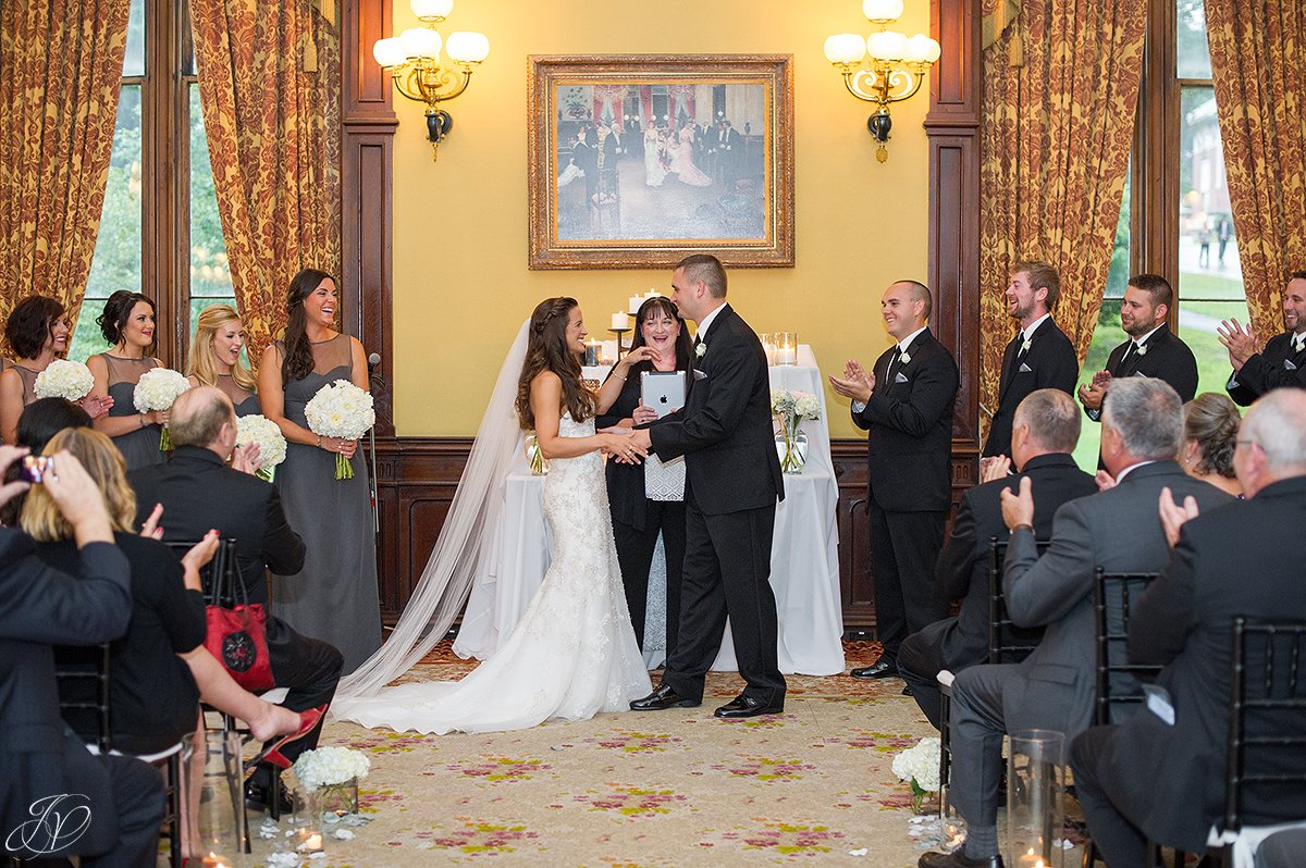 wedding ceremony canfield casino