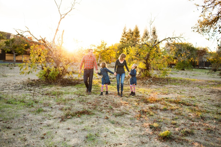Sonoma Fall Family Portrait Sessions {Sonoma Family Photographer}