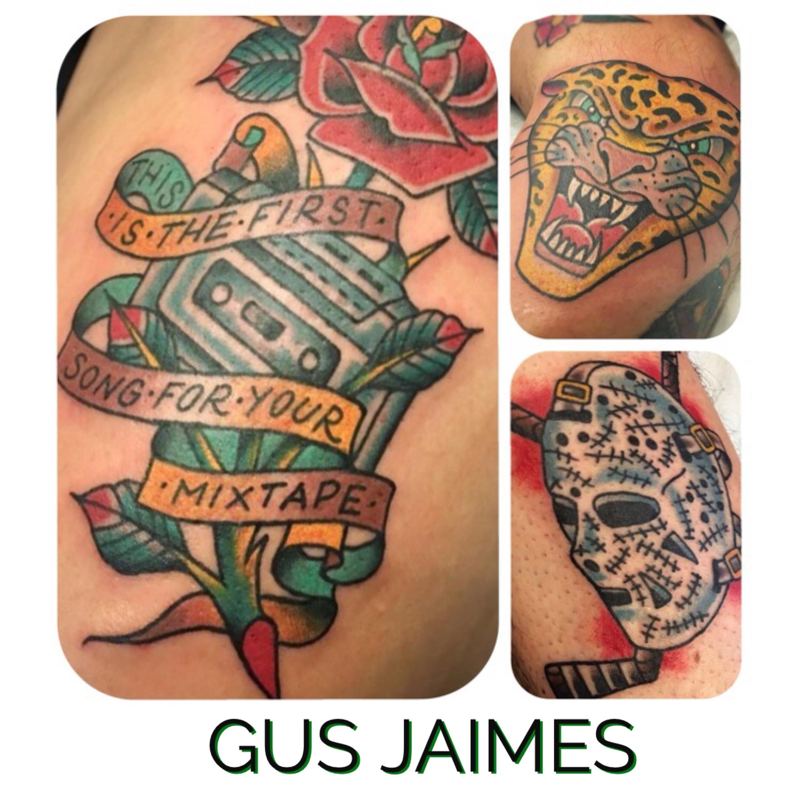 Gus Jaimes for Torch Tattoo