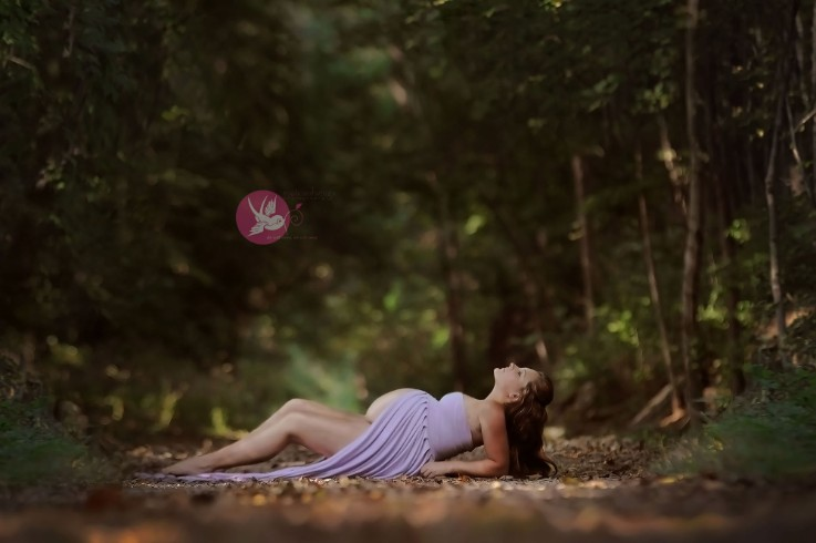 Gorgeous glow...   I   Bloomington, IN maternity photographer