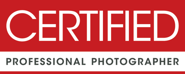 Certified Professional Photographer (CPP) with the Professional Photographers of America
