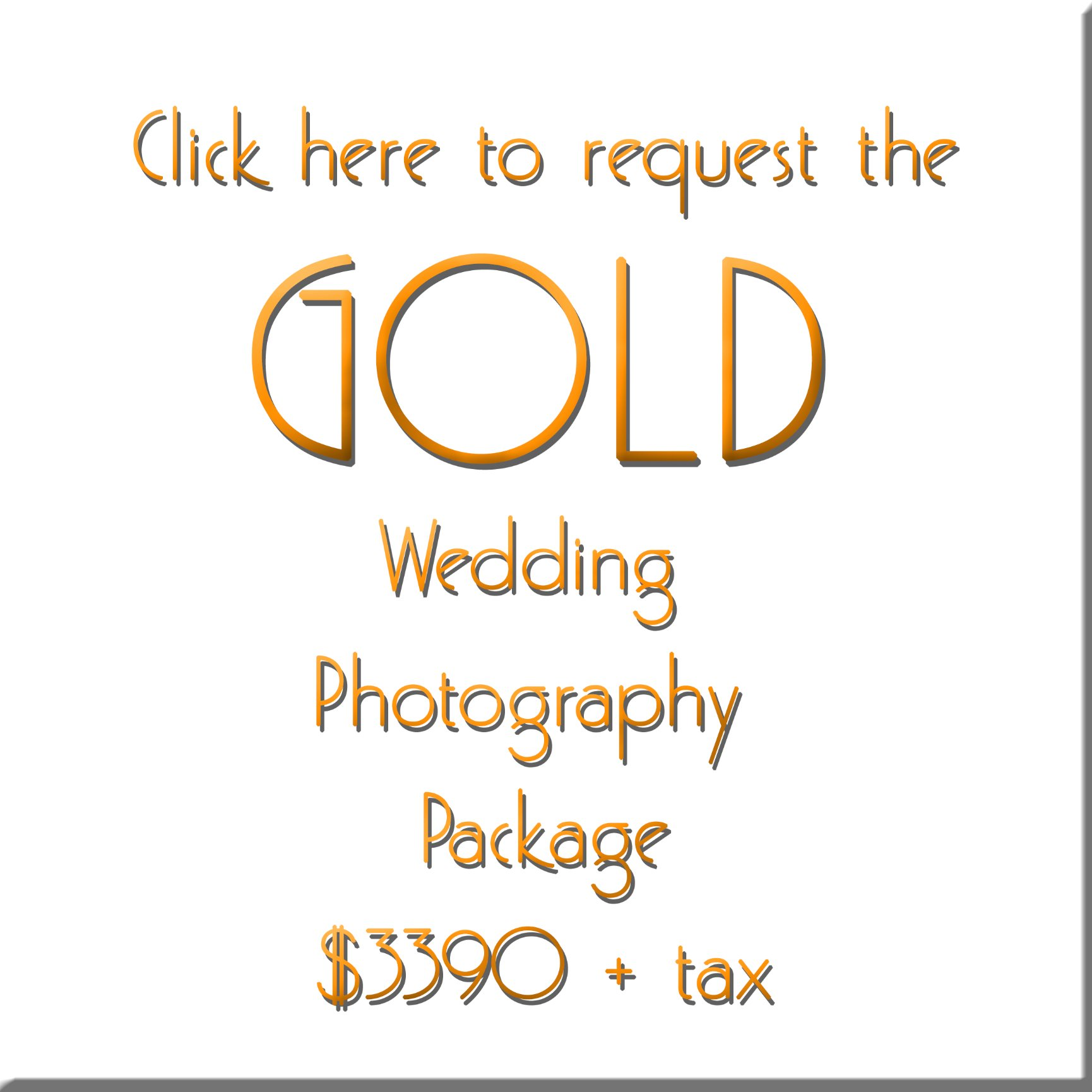 Gold Wedding Photography Package