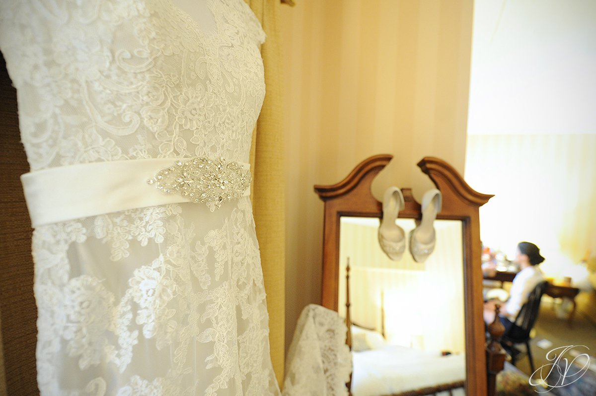 wedding gown detail photo, beautiful wedding gown details, Wedding at The Pruyn House, Albany Wedding Photographer