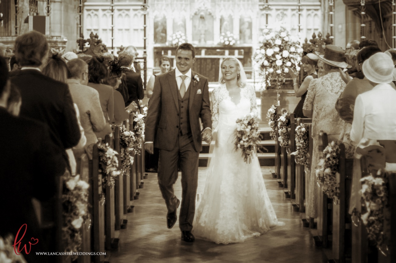 Wedding at Woolton Church