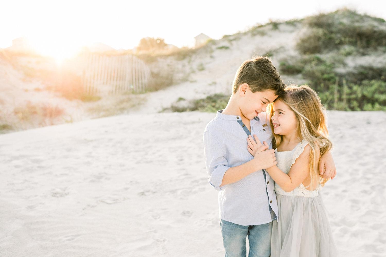 sibling coastal session, Saint Augustine Beach, Florida, Rya Duncklee