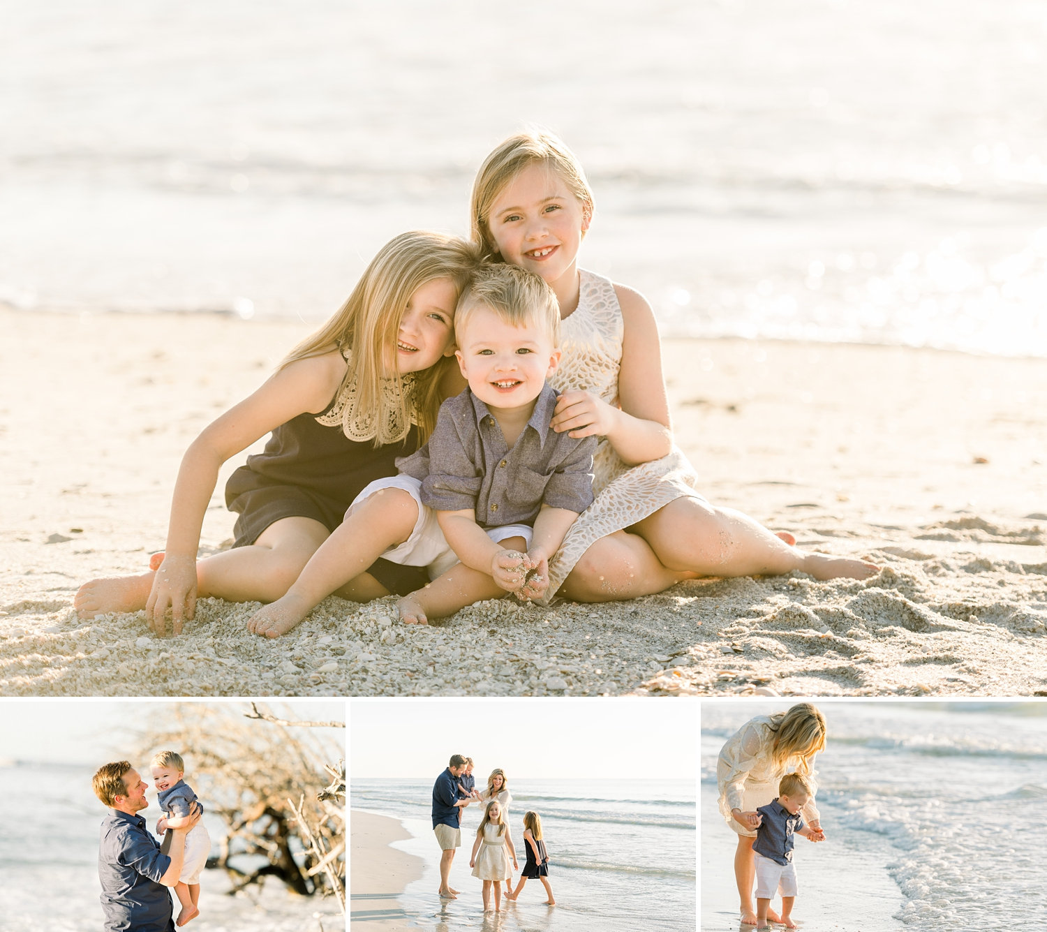 exquisite family beach portraiture, Naples family photographer, Ryaphotos