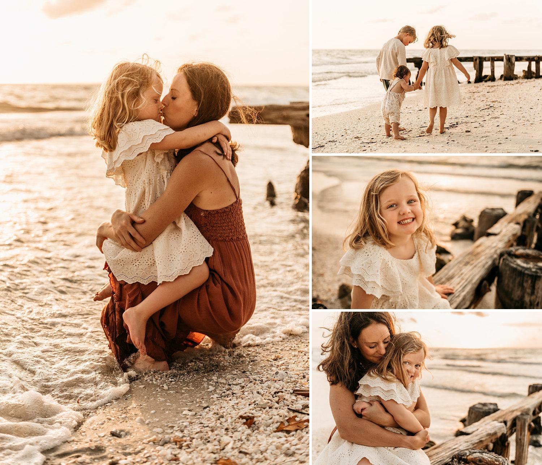 Naples Beach, Florida, family beach photos, beautiful family, Rya Duncklee
